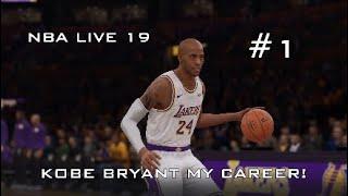 NBA LIVE 19 - Kobe Bryant MyCareer #1 | LAKE SHOW BEGINS!