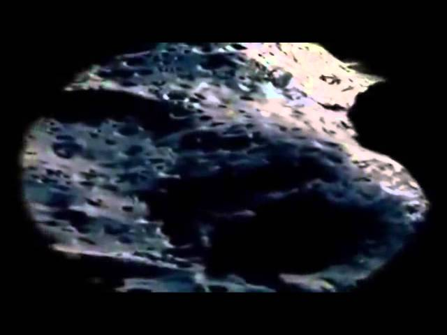 THE MOON, an alien UFO base, a satellite that doesn't belong to us