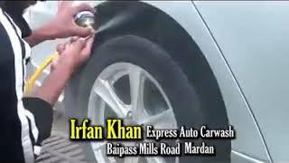 Irfan khan auto car wash in mardan