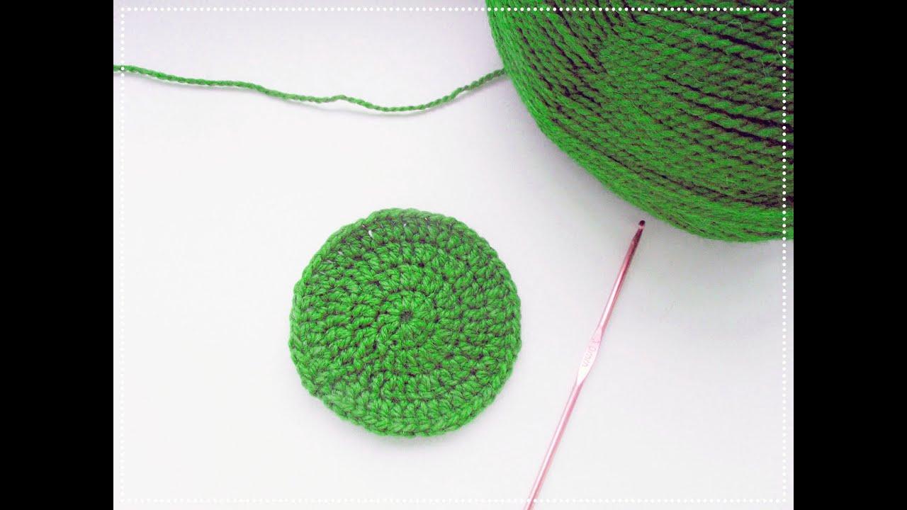 Как связать круг крючком для начинающих фото