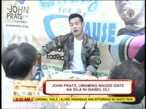 John Prats confirms dating Isabel Oli