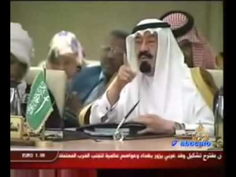 Saudi King Abdullah Vs Gaddafi (with English Subtitles) video