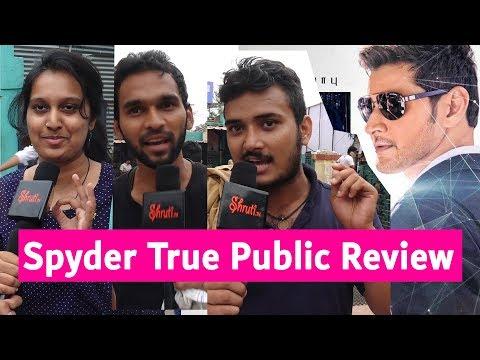 Spyder True Public Review   Mahesh Babu. Rakul Preet Singh   A.R. Murugadoss