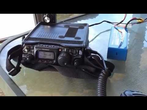 VK3XPT/7 QRP Portable, with VK2RO on 40m. 2 of 2