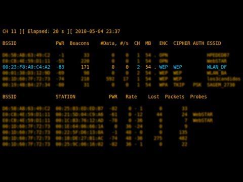 Como hackear Redes WIFI con protecion WEP 2014