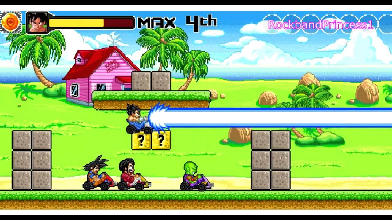 dragon ball z games dragon ball z kart game youtube