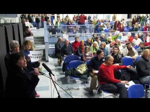 Outrage at final Searsport (ME) LPG tank hearing, 2/25/13