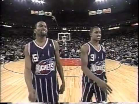 Footage from the 2000 NBA Dunk Contest Starring Vince Carter, Tracy McGrady, Steve Francis, Ricky Davis, Jerry Stackhouse, and Larry Hughes. Co-Starring Cuttino Mobley, Grant Hill and Eddie...