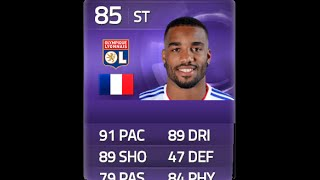 FIFA 15 PURPLE LACAZETTE 85 Player Review & In Game Stats Ultimate Team