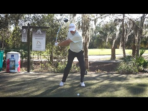 JERRY KELLY -  DRIVER GOLF SWING REGULAR & SLOW MOTION 9TH HOLE TIBURON COURSE LATE 2014 1080p HD