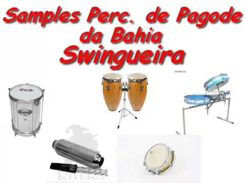 Samples Percussão Pagode da BahiaSwingueira   YouTube22