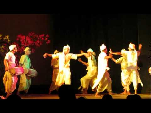 Bihu Dance From Assamese Play guti Fulor Gamosa - Utsa, Assam video