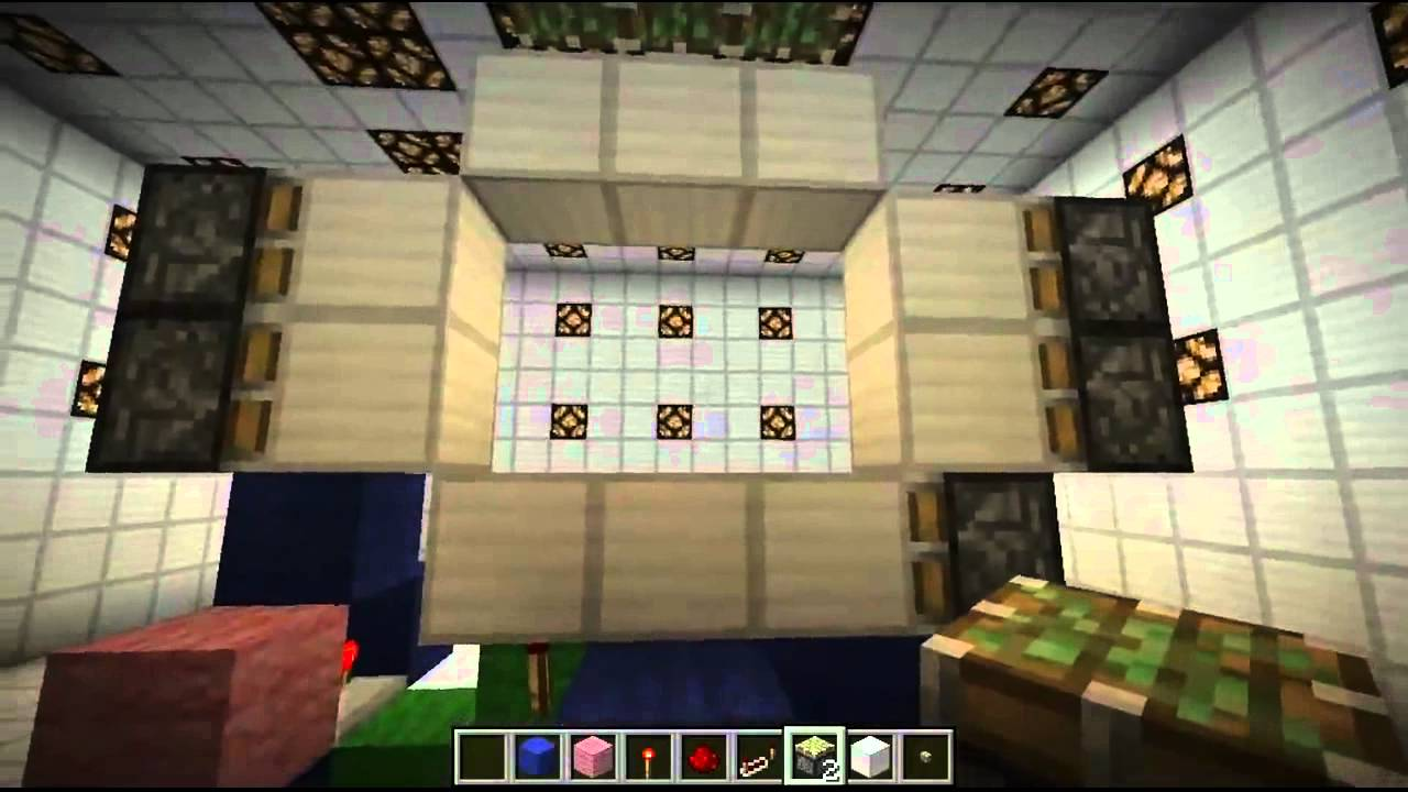Porte 3x3 condens e tuto minecraft youtube for Porte 3x3 minecraft