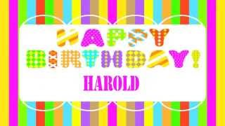 harold   Wishes & Mensajes - Happy Birthday