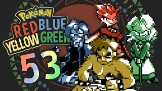Pokémon Red, Blue, Yellow, and Green [53] - Buddha's Four Warrior Attendants
