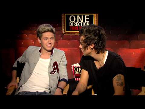 ONE DIRECTION movie interview: Score With Harry And Niall