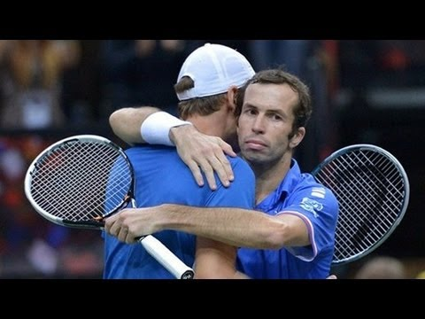 Davis Cup Final 2012 Full Match Highlights - Day 2 17/11/12