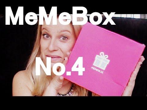 Meine 4. #memebox -  #poren #verfeinerung video