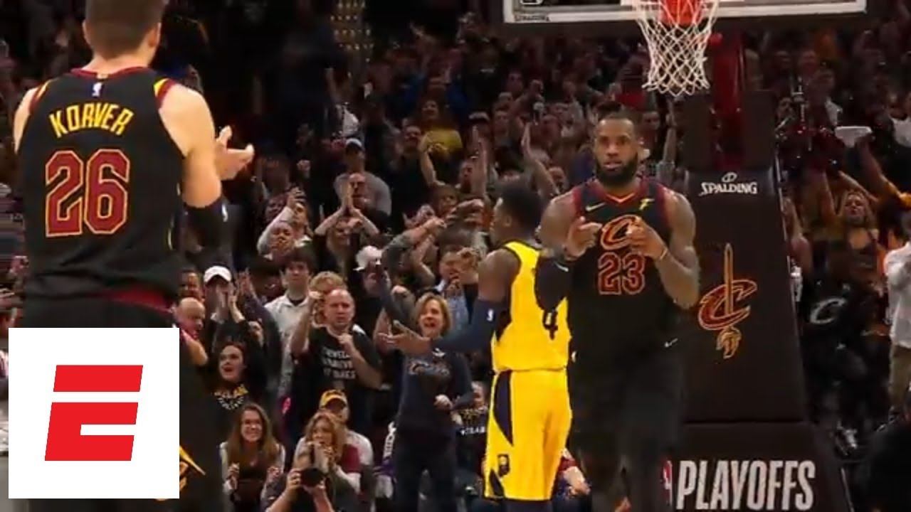 LeBron gives an epic performance in Game 7 win against Pacers | ESPN