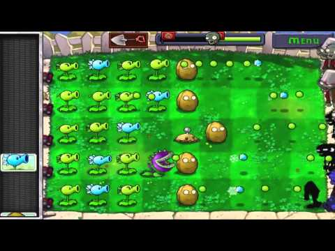 PLANTS VS ZOMBIES by Pop Cap [Daytime Gameplay] iPod Touch 4 HD