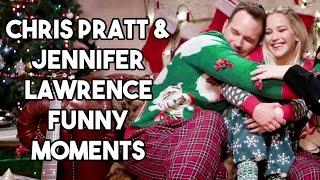 Chris Pratt and Jennifer Lawrence Funny Moments