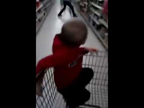 Never Do Drugs!  Lady At Walmart Tripping Out On Meth!