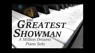 A Million Dreams The Greatest Showman Piano Solo Pianoguys