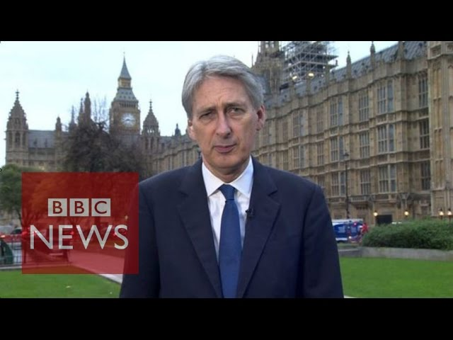 'Question is whether to take fight to them' says Philip Hammond - BBC News