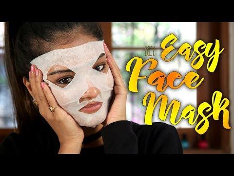 Diy Easy Face Mask   Face Mask Tutorial   Skincare Tutorial   Foxy Makeup Tutorials