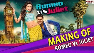 Making Of Romeo Vs Juliet I Ankush and Mahiya Mahi Behind the scenes