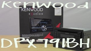 Kenwood DPX791BH - Out Of The Box