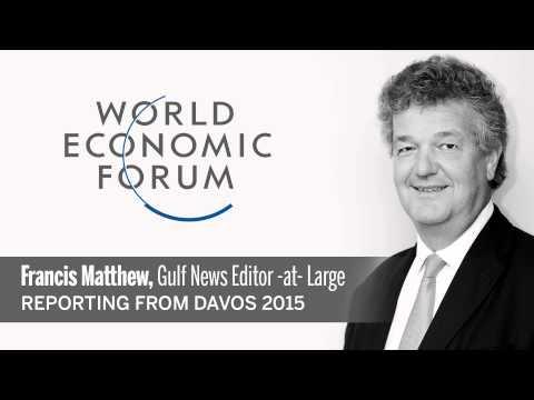 Petro Poroshenko shouts at Davos 2015