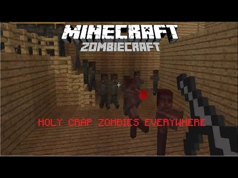 Minecraft ZombieCraft: Zombies are in the house!