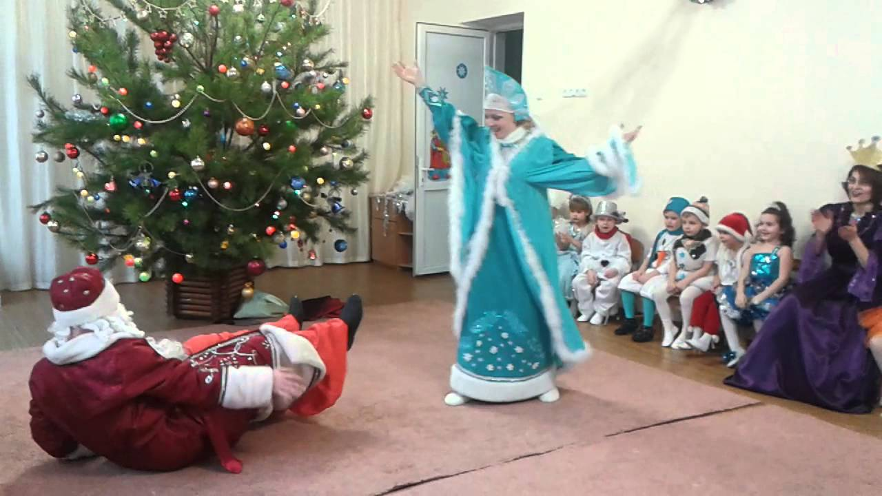 Новый год танец деда мороза