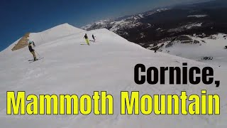 Ski Mammoth Mountain, Cornice Bowl June 2019 GoPro PS