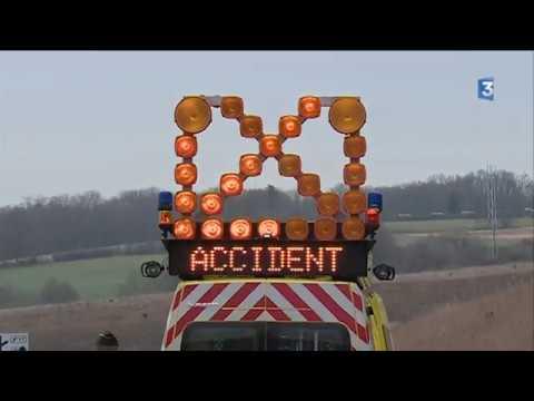 A89 coupée après un grave accident de la circulation