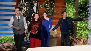 Cast of 'Will & Grace' Has No Memory of Appearing on Ellen