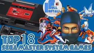 Top 18 Sega Master System Games