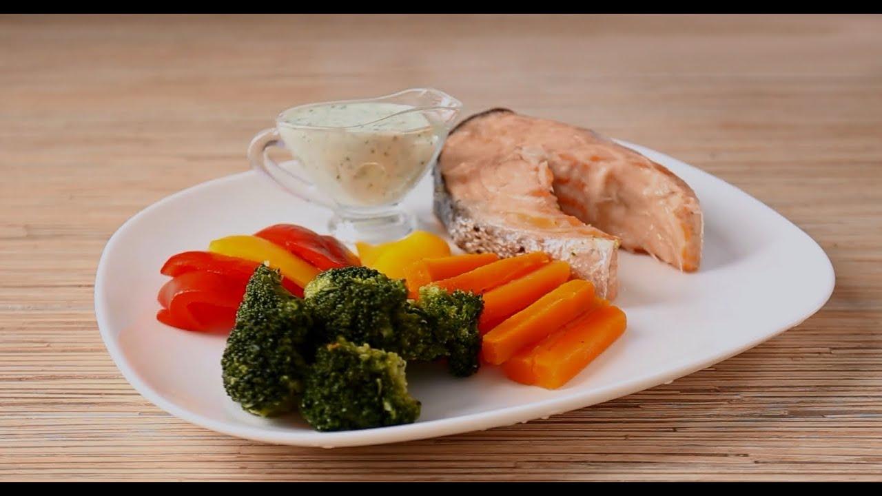 Семга с овощами в мультиварке рецепты