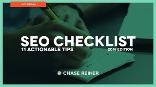 2017 SEO Checklist ☑️️ (11 Actionable Tips)