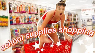 college school supplies shopping 2019
