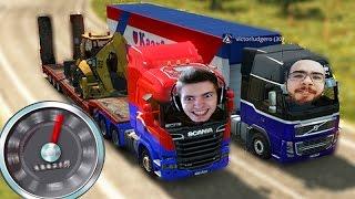 A VIAGEM em DUPLA!!! - Euro Truck Simulator 2 MP!!!