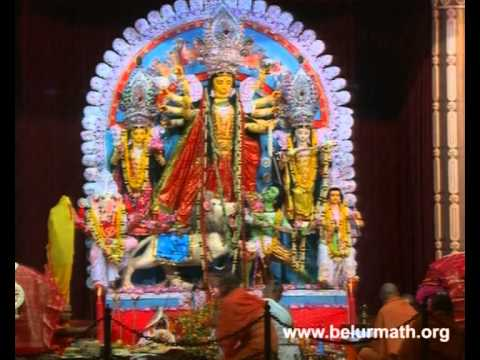 Sri Sri Durga Puja at Belur Math: 2012 Ashtami Sandhi Puja