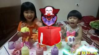 Christmas in the House, the Children coloring for Toys | Funny for kid | Toy for kid