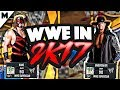 NBA2K17 WWE SUPERSTARS! KANE AND UNDERTAKER, BROTHERS OF DESTRUCTION INVADE THE PARK!(MUST WATCH)