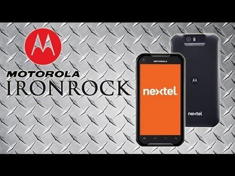 Motorola IronRock de Nextel