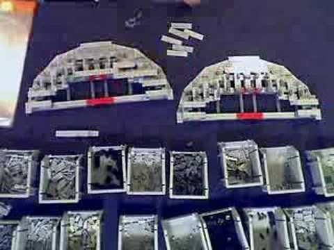 Lego Death Star Time Lapse Buildup
