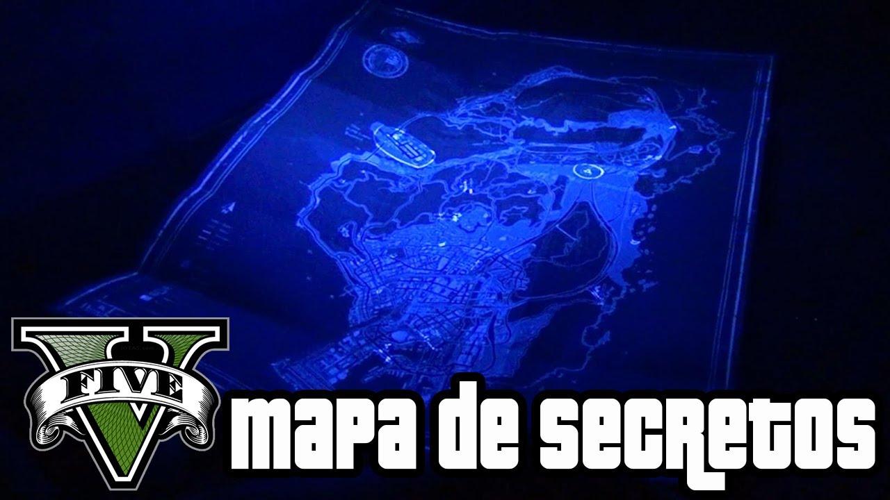 Los secretos del mapa de gta v youtube for Bazzel el jardin de los secretos