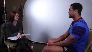 Alexandra Evans meets Thierry Dusautoir