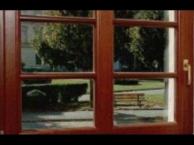 Jak to jest zrobione - okna drewniane. Fasada
